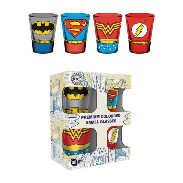 DC Comics – feles pohár szett – Raving Store 50cf52e8d6