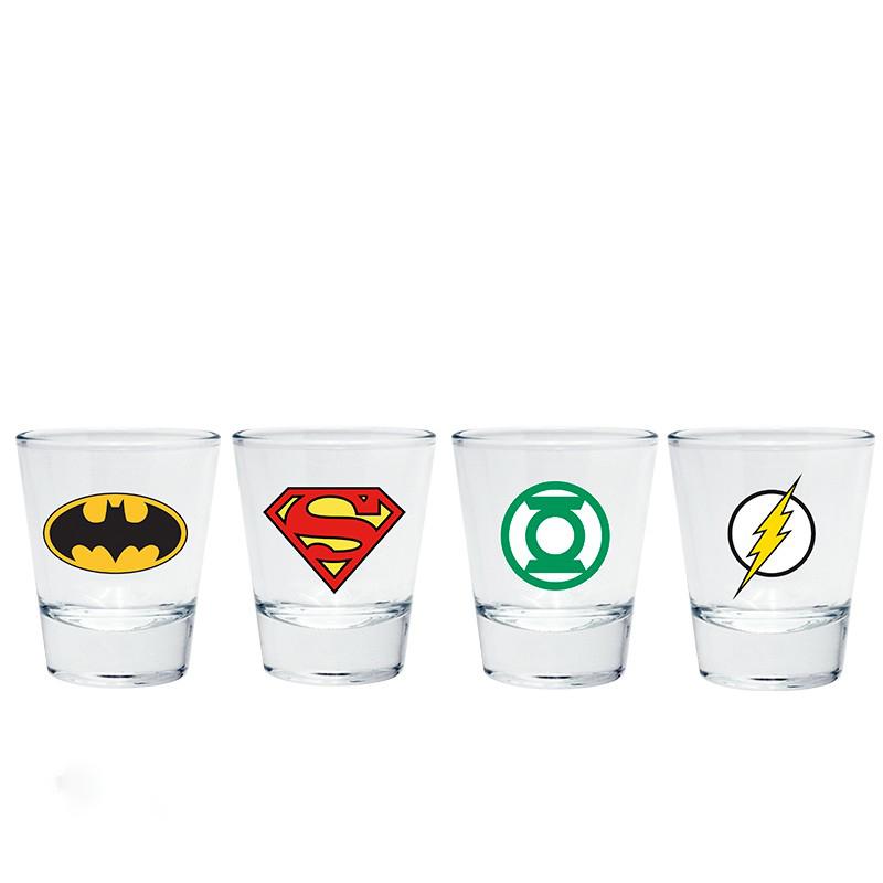 DC Comics – Hősök felespohár szett – Raving Store 0fd43c2040