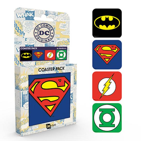 DC Comics – Classic poháralátét szett – Raving Store 76115d2840